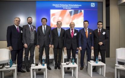 Deutsche Bank, Türk-Alman iş dünyasını buluşturdu!