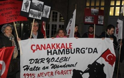 TGB Hamburg, 100. yılında Çanakkale Zaferini andı!