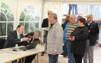 Almanya'da ilk gün 4 bin 800 kişi oy kullandı!