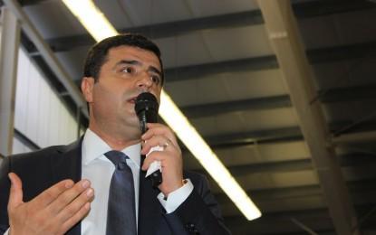 HDP'de Demirtaş sesleri…