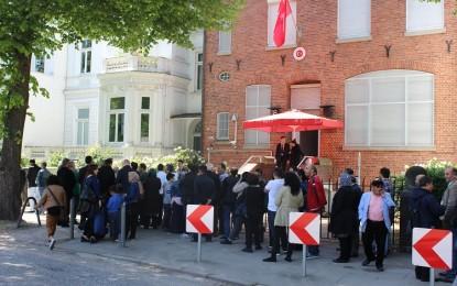Hamburg Başkonsolosluğu'nda tüm işlemler için randevular internetten olacak!