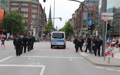 AGİT, Hamburg'da hayatı durduracak!