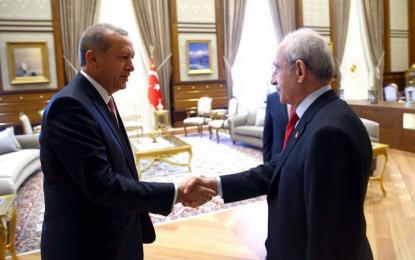 Erdoğan, Kılıçdaroğlu'nu kutladı!