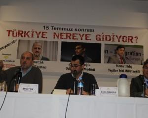"""Cemaat Mağduru Gazeteciler Hamburg'da Konuştu: """"Türkiye Dibe Doğru Gidiyor"""""""
