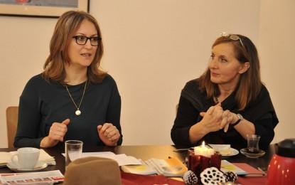 Hoşgörülü Kadınlar Grubunun bu ayki konuğu 'Serpil Kurukavak-Volkland' oldu