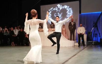 Hakan Çalhanoğlu, düğününde Zeynek şovu yaptı! İZLE