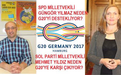 İki milletvekili iki farklı görüş! Neden G20'yi destekliyor? Neden G20'ye karşı çıkıyor?