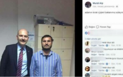 Süleyman Soylu'dan fotoğraf tepkisi!