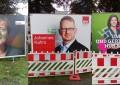 Hamburg'da seçimler öncesi 3 partinin afişlerine saldırı!