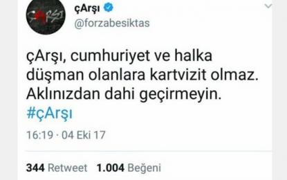 Çarşı'da Sedat Peker tartışması!