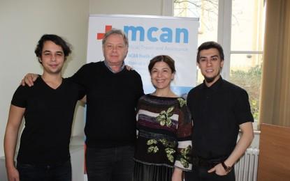MCAN Health'in Hamburg tanıtım toplantısını yoğun ilgi!