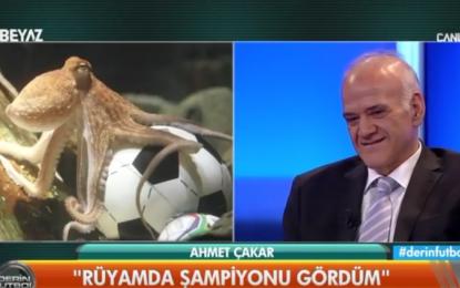 'Rüyamda şampiyonu gördüm. Fenerbahçe.'