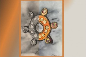Türkiye'de bir ilk…. Mücella Balyemez'den  '' Antik Takı Suluboya Resim Sergisi ''