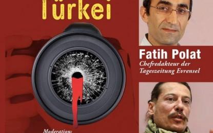 Hamburg'da Türkiye'de Basın Özgürlüğü Paneli