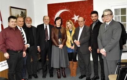 HTBB'den Yeni Başkonsolos Yonca Sunel'e Ziyaret