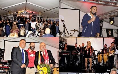 Galatasaray Hamburg'dan 'Ümit Karan'lı Şampiyonluk Kutlaması