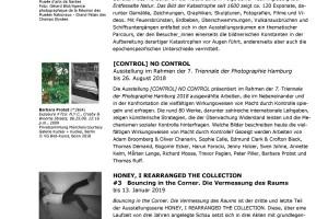 Monatsvorschau der Hamburger Kunsthalle für Juli 2018