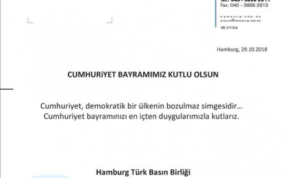 HTBB'den Cumhuriyet mesajı