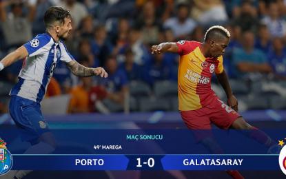 Cimbom Porto'yu salladı, yıkamadı!
