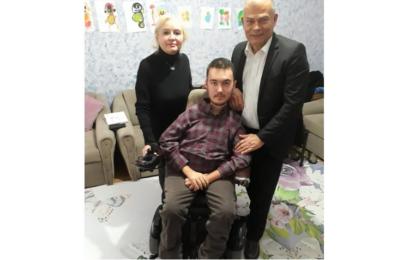 Ali Akdemir'den duygulandıran buluşma