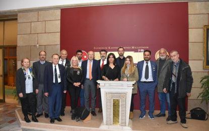 Hamburg Türk Basın Birliği, TBMM'ine çıkarma yaptı!