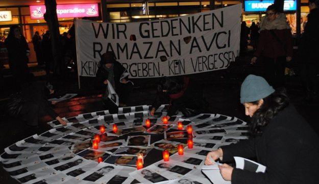Irkçılık kurbanı Ramazan Avcı Hamburg'da anılacak