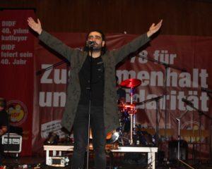 DİDF Hamburg, 40. yılını Selçuk Balcı ile kutladı! İZLE