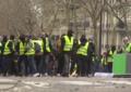 Sarı Yelekliler Paris sokaklarında!