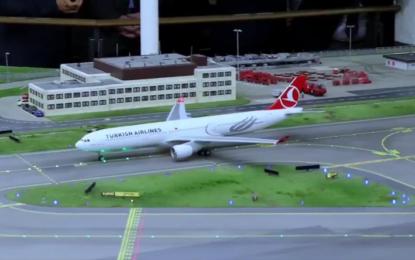Türk Hava Yolları, Hamburg Miniatur Wunderland'a indi! İZLE