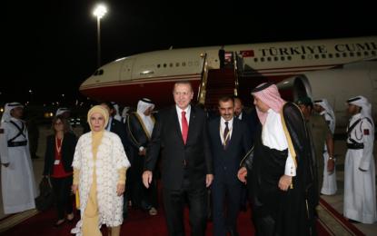 Katar Emirinin Erdoğan'a hediye ettiği milyonluk uçak Hamburg'da!