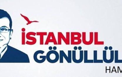 """İmamoğlu'na bir destekte  """"İstanbul Gönüllüleri Hamburg"""" Platformu'ndan geldi"""