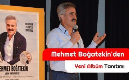 Mehmet  Boğatekin'in Albüm tanıtım galası
