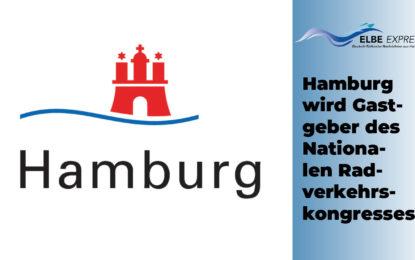 Hamburg wird Gastgeber des Nationalen Radverkehrskongresses