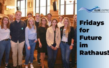 Fridays for Future im Hamburger Rathaus!