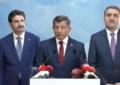 Ahmet Davutoğlu ve arkadaşları AKP'den istifa etti!