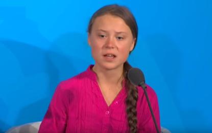 Greta konuşmasıyla Dünya liderlerini sarstı! İZLE