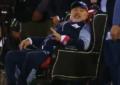 Maradona maçı tahtan yönetti!