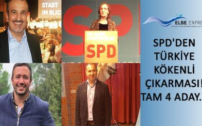 SPD'den Türkiye kökenli çıkarması! Tam 4 aday…