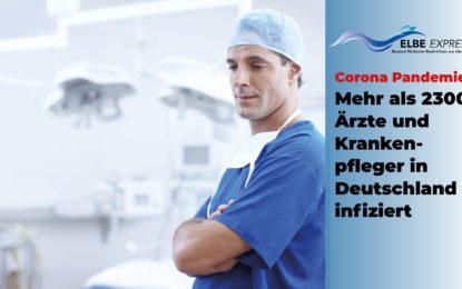 Corona-Ausbreitung in Deutschland: mehr als 2300 Ärzte und Krankenpfleger infiziert