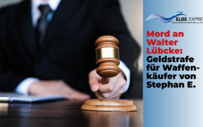 Mord an Walter Lübcke: Geldstrafe für Waffenkäufer von Stephan E.