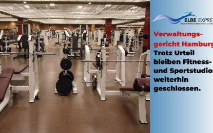 Trotz Urteil, bleiben Fitness- und Sportstudios weiterhin geschlossen.