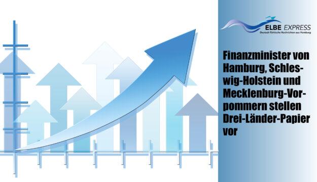 Finanzminister von Hamburg, Schleswig-Holstein und Mecklenburg-Vorpommern stellen Drei-Länder-Papier vor