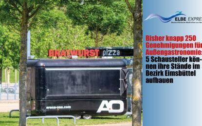Bisher knapp 250 Genehmigungen für Außengastronomie: 5 Schausteller können ihre Stände im Bezirk Eimsbüttel aufbauen