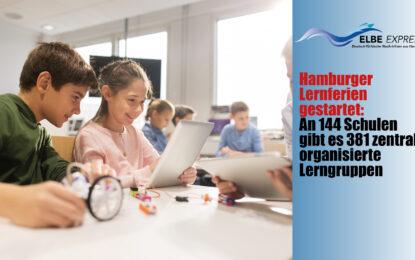 Hamburger Lernferien gestartet: An 144 Schulen gibt es 381 zentral organisierte Lerngruppen